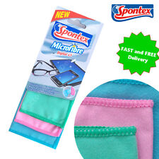 MICROFIBRE CLOTH for Cleaning Glasses Mirrors Lenses LCD TV Laptops iPad iPhone