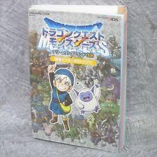 DRAGON QUEST MONSTERS Terry's Wonderland 3D Data Guide 3DS Book SE03*