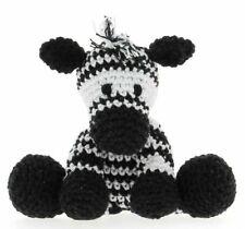 Hoooked DIY Crochet Kit Zizi Zebra Amigurumi Eco Barbante Recycled Toy Gift
