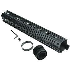 "New 15"" Free Float Handguard Keymod Rail Quad Mounting Tactical Picatinny Black"