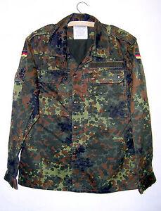 ORIGINAL Bundeswehr Feldbluse Flecktarn BW Feldbluse Feldhemd Jacke Bluse