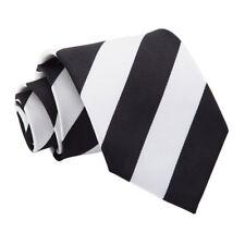 DQT Striped Formal Casual Business Office Attire Standard Mens Classic Tie