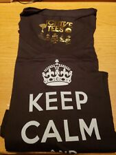 the Chive *Authentic* Keep Calm and Chive On BLACK *RARE* KCCO Womens Medium
