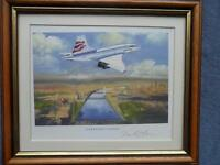 Westminster Collection Concorde Painting Print Limited Edition Supersonic London