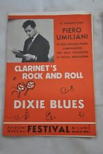 CLARINET'S ROCK AND ROLL-DIXIE BLUES PIERO UMILIANI 1957