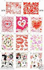 Fantasy Nail Art Decal Water Slide Transfer Kiss Stamp Style Stickers 11 in1 W4