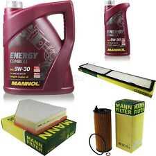 Inspektionspaket MANNOL 6 L Energy Combi LL 5W-30 + MANN Filterpaket 10921964