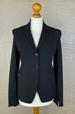 PATRIZIA PEPE Damen Gr. 36 Stretch Blazer Wolle Jacke Jacket schwarz 40A