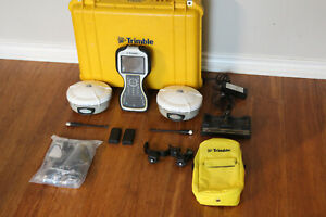 Trimble Dual R8 Model 2 GPS GNSS Glonass Base Rover RTK System TSC3 Access