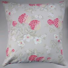 """Shabby Chic Cushion Cover in Cath Kidston Wild Strawberry 16"""""""