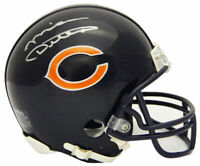 MIKE DITKA Signed Chicago Bears Riddell Mini Helmet - SCHWARTZ