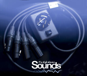 RCA Volume Knob Controller   Analog Monitor Speakers Cables & Control