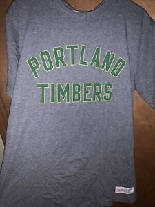Portland Timbers Mitchell & Ness Vintage Large T Shirt