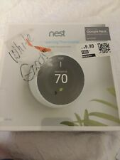 Nest 3rd Generation Programmable Wi-Fi Smart Learning Thermostat - White SEALED