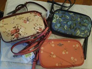 COACH Coated Canvas Signature Sadie Handbag NWT $175