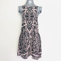 Somedays Lovin Dress 10 vintage inspired designed to fade NWT pink black