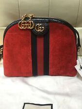 Gucci Ophidia Small Shoulder Bag 499621 D6ZYG 8670 Dome Crossbody Bag