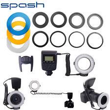 LED Ring Flash For Nikon Canon Pentax Olympus Panasonic Sigma Camera