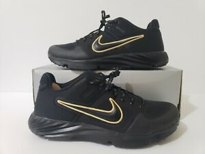 Nike Alpha Huarache Elite 2 Turf Softball Cleats (BQ4164-005) Women's Size 10