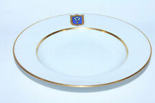Exclusive RUSSIAN Imperial Lomonosov Porcelain Deep Plate Cottage Gold Emperor