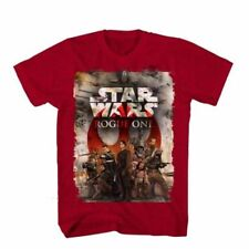 New Authentic Star Wars Rogue One Movie Team One Adult Soft T-shirt Medium top