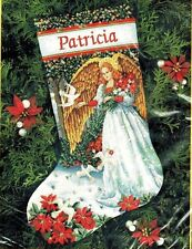 Dimensions Gold ANGEL OF SERENITY Needlepoint Christmas Stocking Kit Bywaters