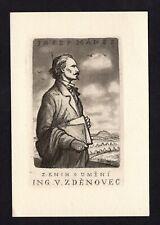 16)Nr.035- EXLIBRIS- Josef Manes - Pavel Simon