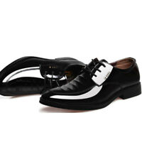 Mens Business Leather Oxford Shoes Casual Formal Dress Wedding Party Shoes New