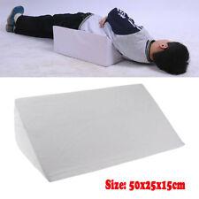 New Acid Reflux Foam Bed Wedge Pillow Leg Elevation Back Lumbar Support Cushions