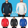 Mens Mazda Long Sleeve Polo T Shirt COTTON EMBROIDERED Auto Logo Tee Casual