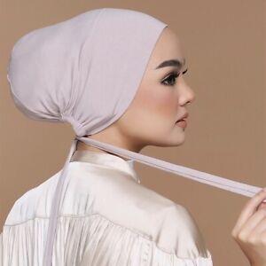 Modal Hat Scarf Hijab Shawl Turban Cap Head Wraps Fashion Women's Hat Soft Cap