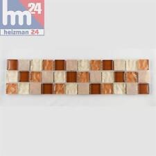mosaïque sa COMA VERRE PIERRE NATURELLE bordure 29,5 x 7,5 x 0,8 cm