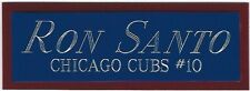 BILLY WILLIAMS CUBS NAMEPLATE FOR AUTOGRAPHED Signed Baseball Display CUBE CASE