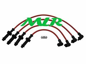 PEUGEOT 106 XSI 205 206 306 405  RED 8MM SILICONE IGNITION HT LEADS AO