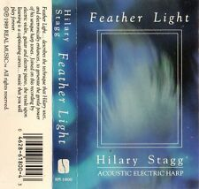 """HILARY STAGG """"FEATHER LIGHT"""" CASSETTE 1989 real music"""