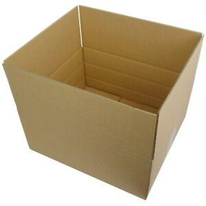 Faltkarton 350x250x150 mm Versandkarton Schachtel  mit Zusatzrillern