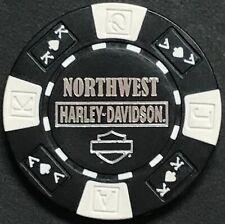 """Orlando/"""" FROM DISNEY SPRINGS STORE White /& Black FULL COLOR Harley Poker Chip"""