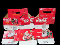 Coca-Cola 6-Pack Christmas Cartons Set of 6 - FREE SHIPPING