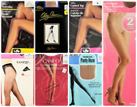 🔆Vintage Pantyhose LOT of 7 Assorted brands/colors/sizes/ Beautiful Legs🔆