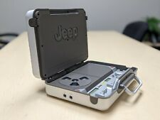 Rare Very Clean Jeep CD Z-Case Portable Stereo Boombox Works Perfectly!