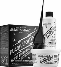 Manic Panic Flash Lightning Hair Bleach Kit 30 Volume Cream Developer, New 2020