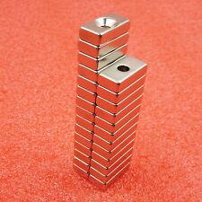 10pcs Block Super Strong Magnets Force Rare Neodymium 20x10x5mm NEW