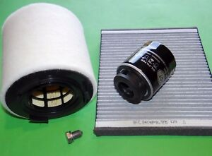 kl. Inspektionspaket Filterset Filtersatz Skoda Fabia RS 1.4 TSI (132kW/180PS)