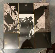 "U2 The Joshua Tree Singles Remastered And Live U2COM12 4 x 10"" Vinyl LP Set Mint"