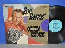 Jim Reeves' Golden Records D RCA VG++/M- TOP COPY! Vinyl LP cleaned gereinigt