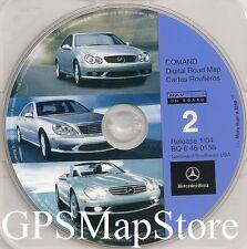2001 2002 2003 S600 S500 S430 S55 CL600 CL500 CL55 Navigation CD North/Southwest