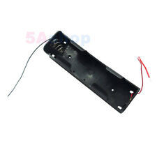 Battery Holder 2 Size D Power Case 3V Clip Box Wire Lead For DIY Experiment Test