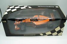1/18 MINICHAMPS ARROWS SUPERTEC A21 P. DE LA ROSA ORANGE REPSOL YPF CHELLO MIB