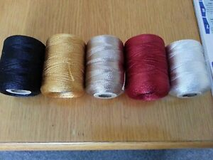 75mtrs.  RAYON  Whipping Thread. .various colours.