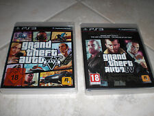 PS3 - Grand Theft Auto: GTA 4 (The complete Edition)  und GTA 5